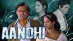 "Image for the Film programme ""Aandhi"""