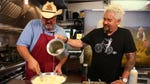 "Image for the Cookery programme ""Diners, Drive-Ins, and Dives"""
