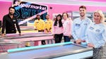 "Image for the Game Show programme ""Celebrity Supermarket Sweep"""