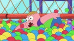 """Image for the Childrens programme """"Clarence"""""""
