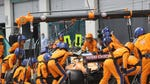 """Image for the Motoring programme """"Lando Norris and his Engineers"""""""